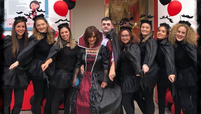 Fiesta de Halloween… otra buena ocasión para compartir